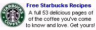 Free Starbucks coffee recipes - grab yours today.