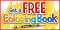 Free coloring books, coloring pages, child safe games & more!